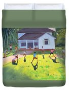 Cricket Duvet Cover by Andrew Macara