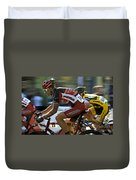 Criterium Bicycle Race1 Duvet Cover