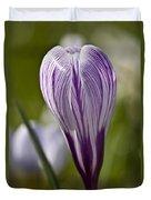 Crocus Blossom Duvet Cover