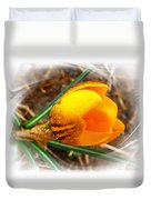 Crocus Gold Two Duvet Cover