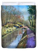 Cromford Canal Duvet Cover