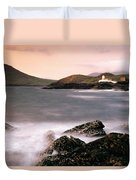 Cromwell Point Lighthouse, Valentia Duvet Cover