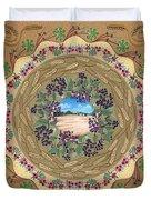 Crop Circle Duvet Cover