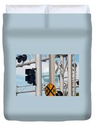 Crossing Signs Duvet Cover
