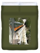 Crossing The Gorge Duvet Cover