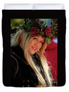 Crowned By Nature Duvet Cover