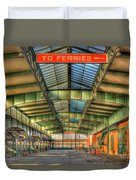 Crrnj Terminal I Duvet Cover