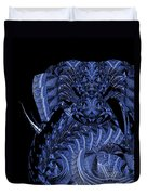 Cryptic Triptych  IIi Duvet Cover