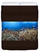Crystal Bay Panorama Duvet Cover