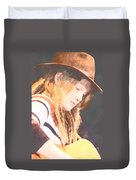 Crystal Bowersox Duvet Cover