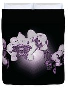Crystal Butterfly Orchid Duvet Cover