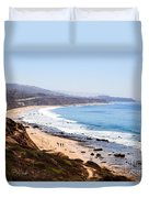 Crystal Cove Orange County California Duvet Cover