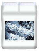 Crystal Flowers Duvet Cover