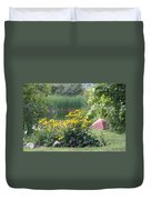 Crystal Lake State Park In Barton Vermont Duvet Cover