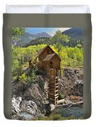 Crystal Mill 4 Duvet Cover