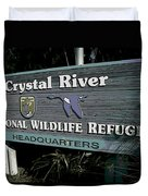 Crystal River Duvet Cover