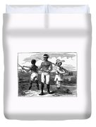 Cuba: Ten Years War Duvet Cover
