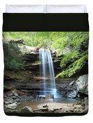 Cucumber Falls Pool Duvet Cover