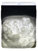 Cumulus Congestus Cloud With Pileus Duvet Cover