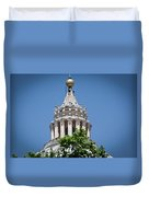 Cupola Atop St Peters Basilica Vatican City Italy Duvet Cover