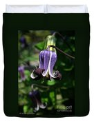 Curly Clematis Duvet Cover