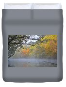 Current River Fall 44r Duvet Cover