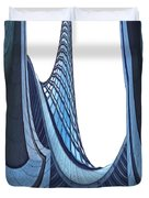 Curves - Archifou 42 Duvet Cover