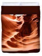 Curves In The Canyon Duvet Cover