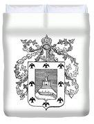 Cusco: Coat Of Arms Duvet Cover