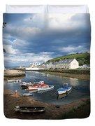 Cushendun, Co. Antrim, Ireland Duvet Cover