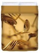 Cutlery Vortex Duvet Cover