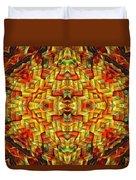 Cyberbraid Mandala Duvet Cover