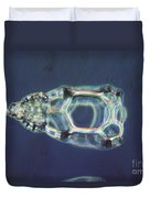 Cycladophora Goetheana Lm Duvet Cover by Eric V. Grave