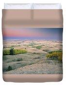 Cypress Hills Interprovincial Park Duvet Cover