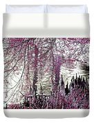 Cypress People Gather Duvet Cover