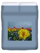 Daffodil Up Front Duvet Cover