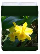 Daffodils In The Wild Duvet Cover