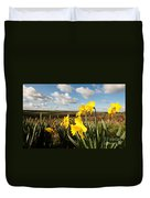 Daffs On Dartmoor Duvet Cover
