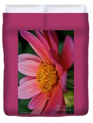 Dahlia Candles Duvet Cover