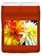 Dahlia Days Duvet Cover