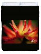 Dahlia Feuer Duvet Cover