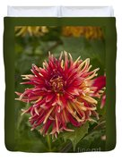 Dahlia In Its Prime Duvet Cover