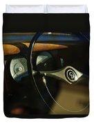 Daimler Steering Wheel Duvet Cover