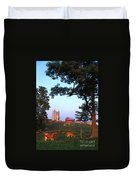 Dairy Farm Duvet Cover by Photo Researchers