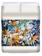 Daisy Carnival Duvet Cover