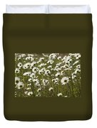 Daisy Fields Forever - Alabama Wildflowers Duvet Cover