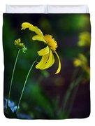 Daisy Profile Duvet Cover
