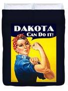 Dakota Rosie The Riviter Duvet Cover