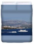 Dalmatian Coast Duvet Cover