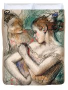 Dancer Duvet Cover by Edgar Degas